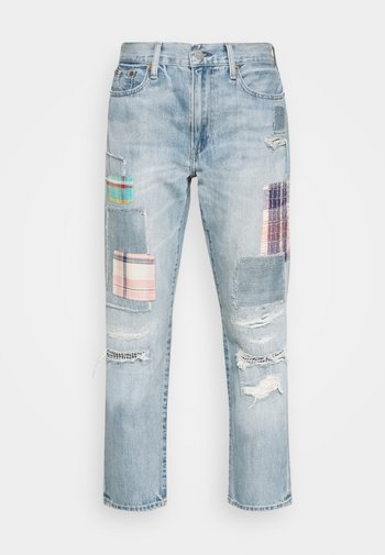 KASIA WASH - Relaxed fit jeans - light indigo