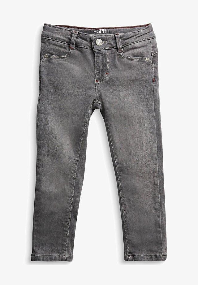Slim fit jeans - grey dark washed