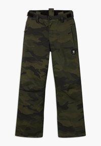 Brunotti - FOOTSTRAP BOYS - Zimní kalhoty - pine grey - 2