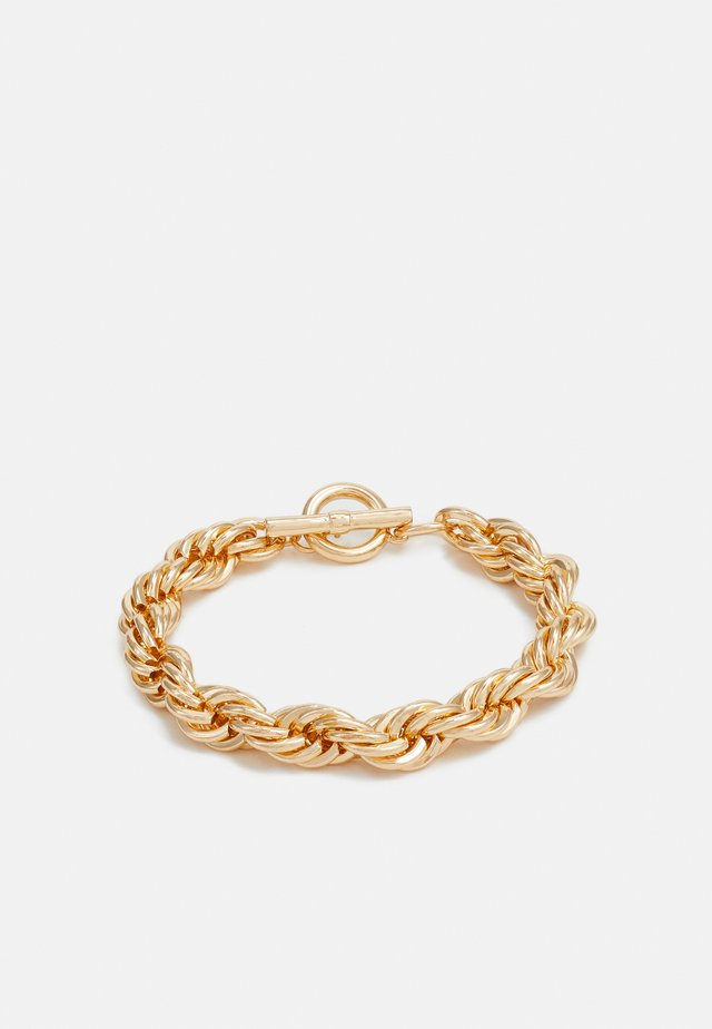 TWIST CHAIN T BAR WRISTWEAR - Bracciale - gold-coloured
