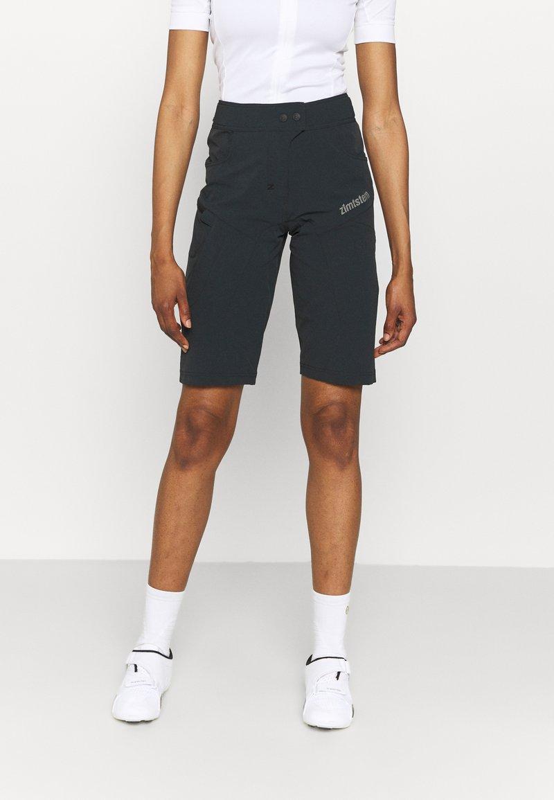 Zimtstern - TAILA EVO SHORT - Sports shorts - pirate black/gun metal
