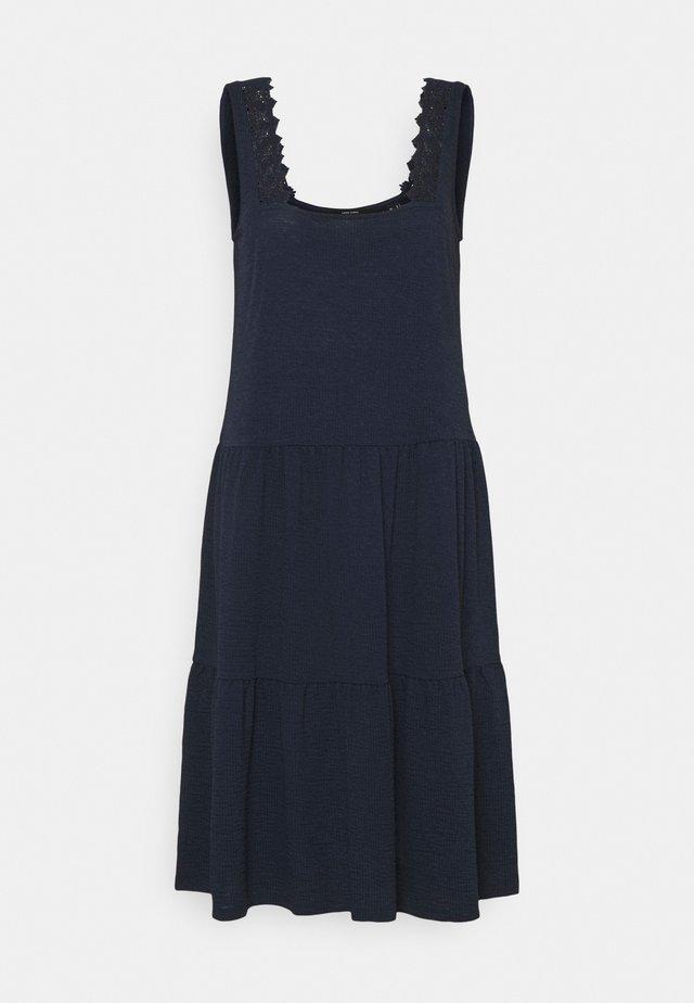 VMALICE DRESS - Žerzejové šaty - navy blazer