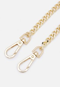 ALDO - Across body bag - jet black/light gold-coloured - 5