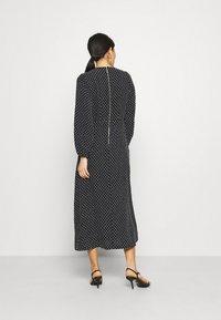 Closet - GATHERED NECK DRESS - Day dress - black - 2