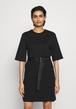 STRANDA SKIRT - Mini skirt - black