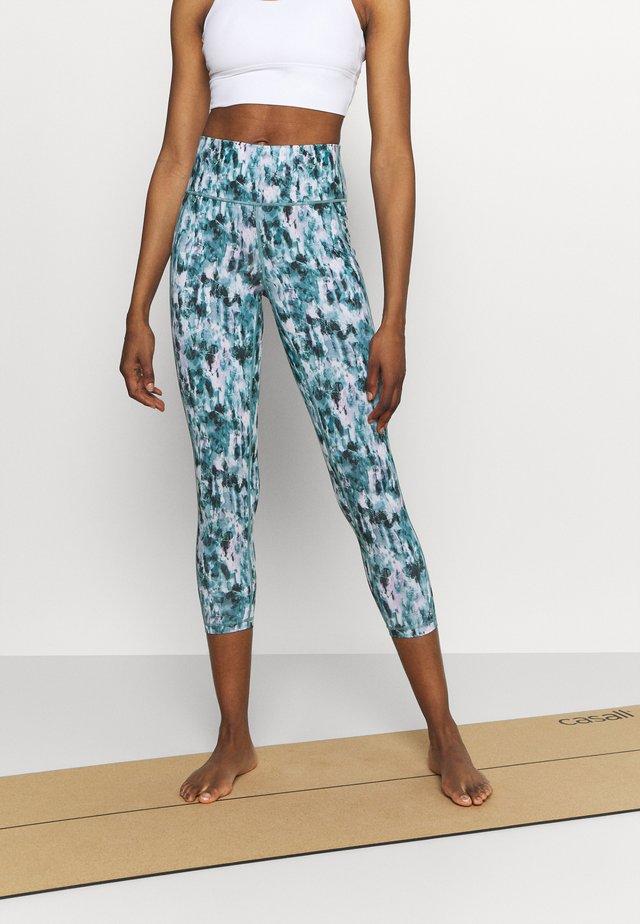 SUPER SCULPT YOGA LEGGINGS - Leggings - blue