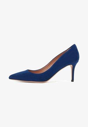 EDDIE - Classic heels - dark purple