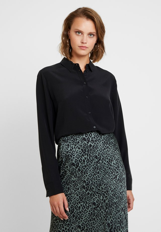 MAJ - Button-down blouse - black