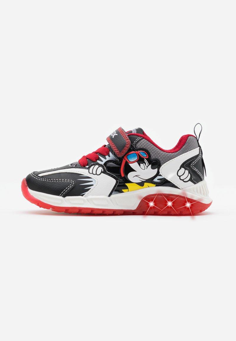 Geox - SPAZIALE BOY - Zapatillas - black/red