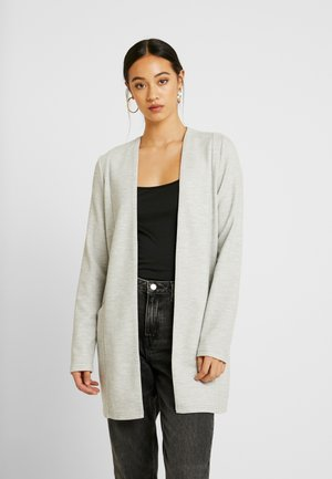 SAVIA COATIGAN - Cardigan - light grey melange