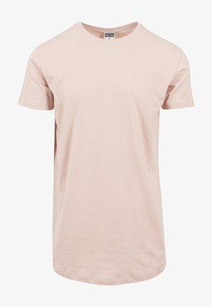 SHAPED LONG TEE DO NOT USE - T-shirts basic - light rose