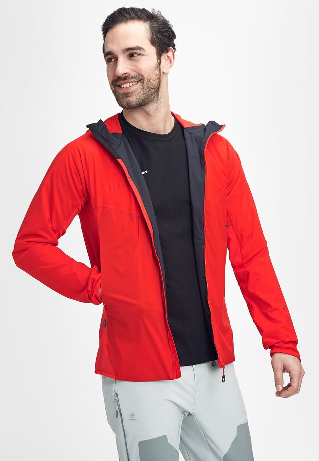 RIME LIGHT IN FLEX - Waterproof jacket - spicy