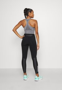 Sweaty Betty - POWER MISSION HIGH WAIST WORKOUT LEGGINGS - Leggings - black - 2