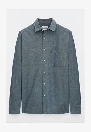 SLIM FIT - Shirt - blue