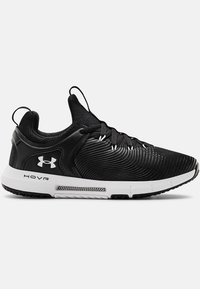 Under Armour - HOVR RISE - Chaussures de running neutres - black - 4