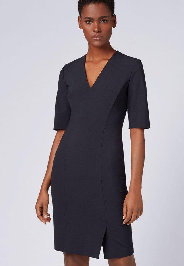 DALENO - Shift dress - dark blue