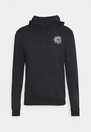 SANTA CRUZ BLOOMED HOODIE UNISEX  - Sweatshirt - black
