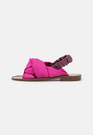 GLICINE RASO - Sandals - fuchsia