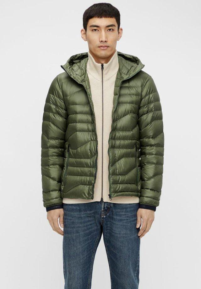 ERIK  - Down jacket - thyme green