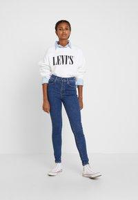 Levi's® - MILE HIGH SUPER SKINNY - Jeans Skinny - tempo so stoned - 1