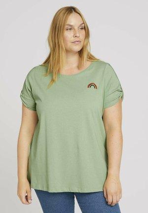 T-shirt imprimé - light mint green