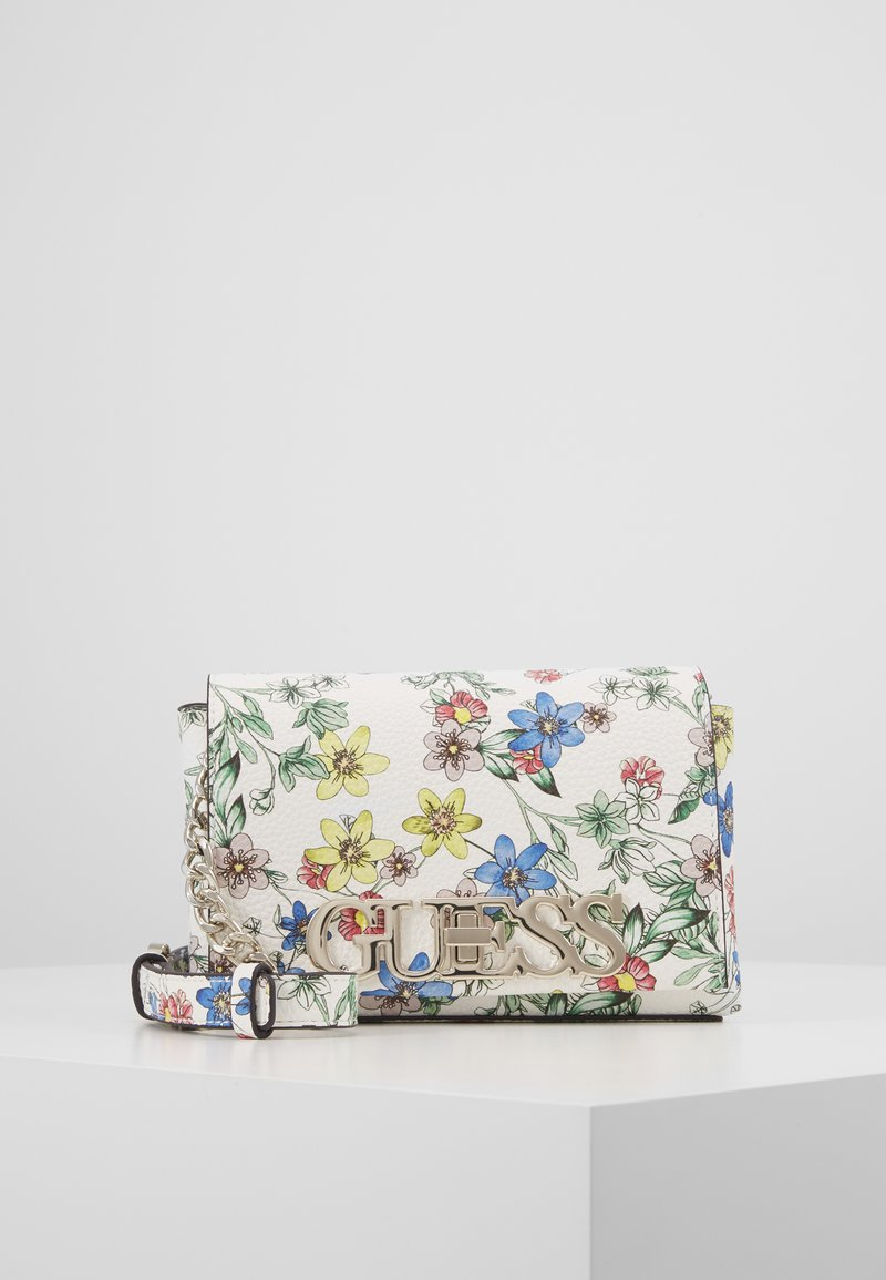 Guess - UPTOWN CHIC MINI XBODY FLAP - Borsa a tracolla - floral