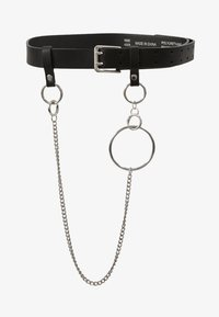 Topshop - PRONG CHAIN BELT - Belt - black - 3