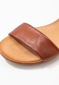 Anna Field - LEATHER  - Sandals - cognac - 2