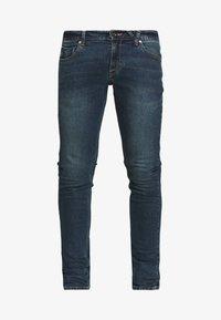 Volcom - Slim fit jeans - dark blue denim - 4