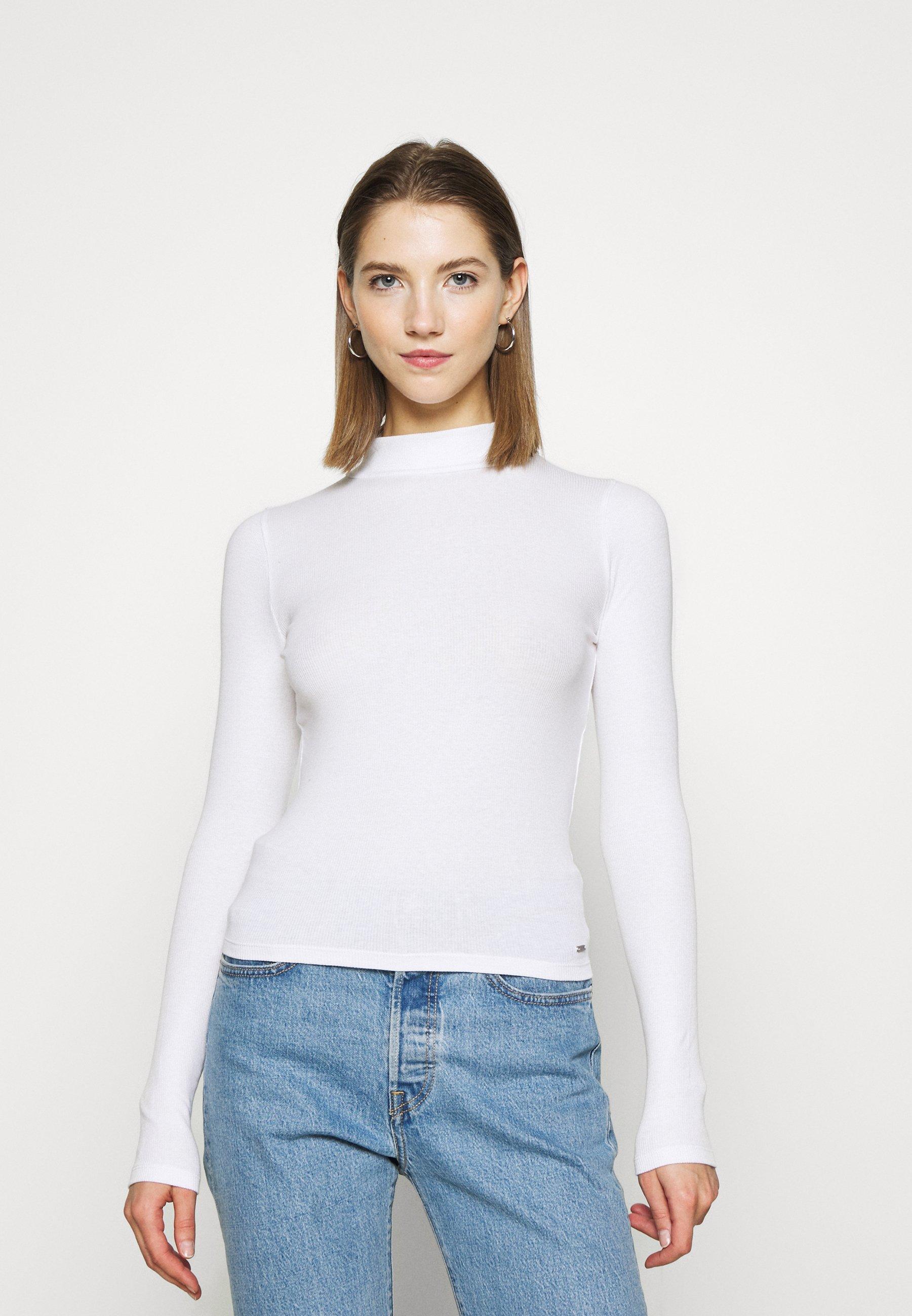 Women SLIM MOCKNECK - Long sleeved top