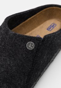 Birkenstock - ZERMATT SOFT - Slippers - anthracite - 5