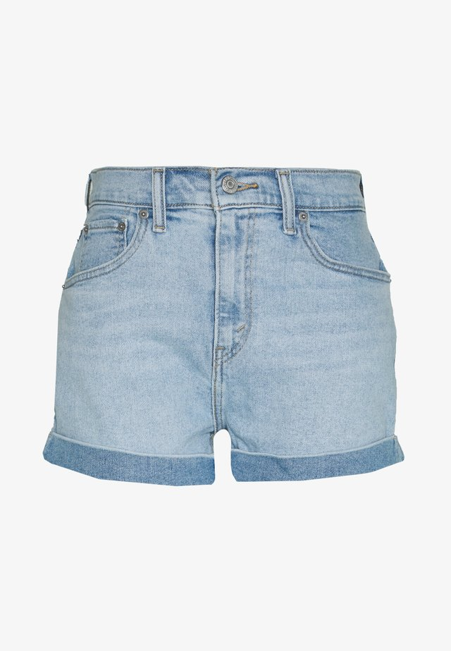 MOM A LINE  - Denim shorts - tables turned