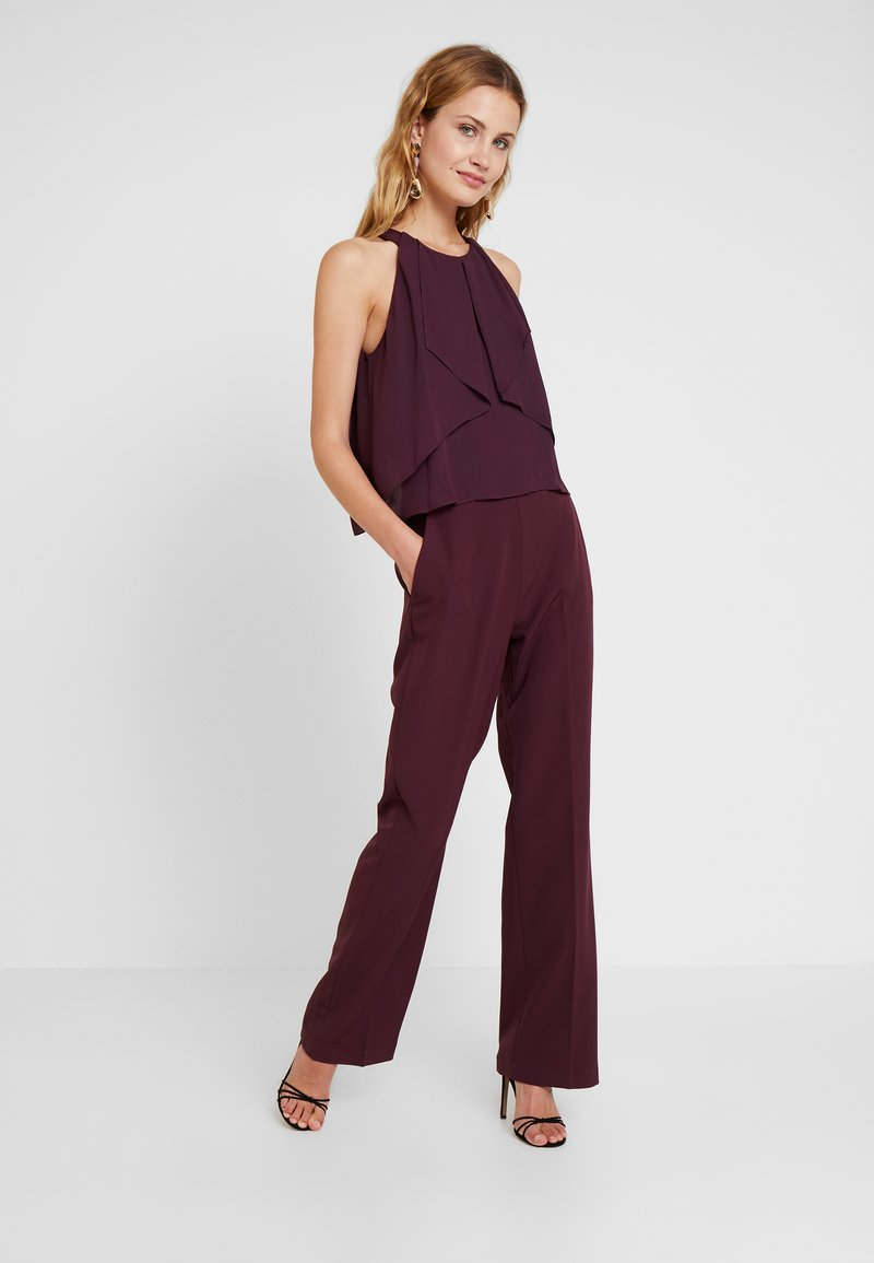 s.Oliver BLACK LABEL - OVERALL - Jumpsuit - soul cherry