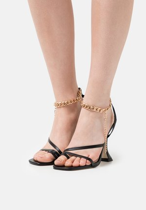 HOLLAND - Sandals - black