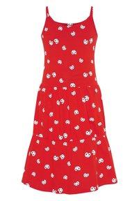 Oklahoma Premium - 2-PACK - Jersey dress - red/white - 1