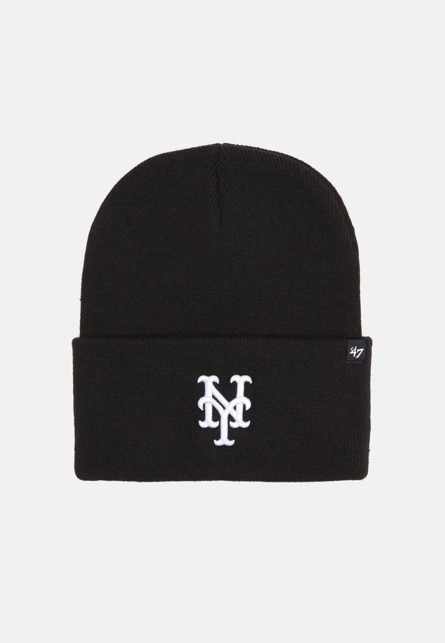 NEW YORK METS HAYMAKER CUFF - Beanie - black