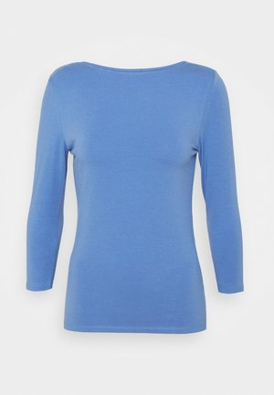 FITTED SLASH - Camiseta de manga larga - blue