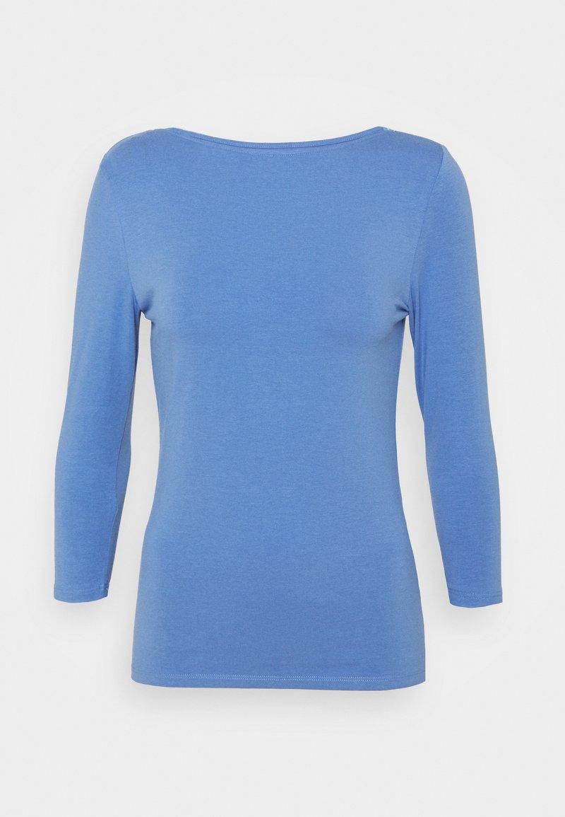 Marks & Spencer London - FITTED SLASH - Longsleeve - blue