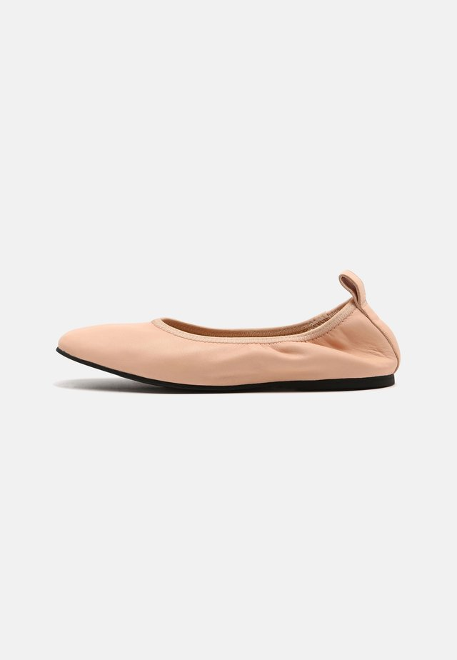 PURE BALLET - Baleriny - light pink lea