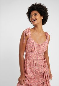 J.CREW - Maxi dress - peach/multi - 3