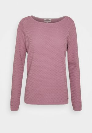 Jumper - dark mauve