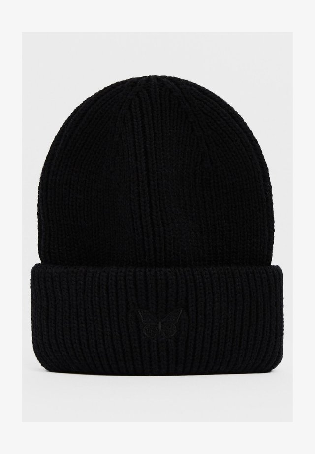 MIT SCHMETTERLING - Bonnet - black