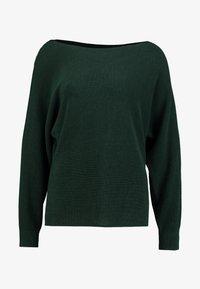 Esprit Collection - STRUCTURE - Jumper - bottle green - 4