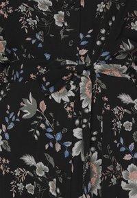 Vero Moda - V-NECK  - Shirt dress - black - 5