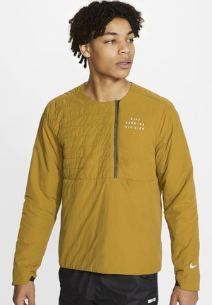 RUN ECOFILL CREW  - Sports jacket - ochre