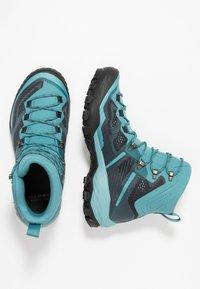 Mammut - DUCAN HIGH GTX WOMEN - Hiking shoes - dark waters - 1