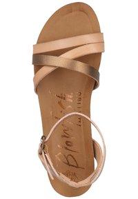 Blowfish Malibu - Ankle cuff sandals - blush/rose gold/amber/blush - 1