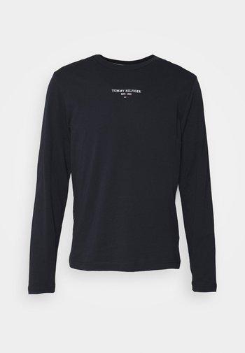 LOGO UNISEX - Långärmad tröja - desert sky