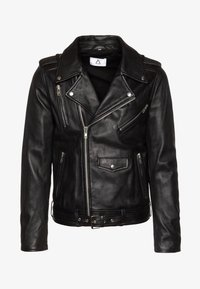 STYLE - Kožená bunda - black