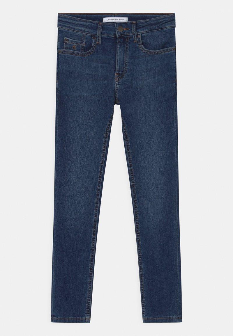 Calvin Klein Jeans - SKINNY - Skinny džíny - essential royal blue